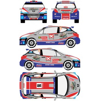 RDR001 Peugeot 206 S2000 16...