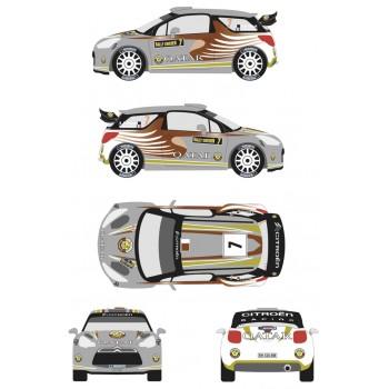 RDR002 - Citroen DS3 WRC 7...