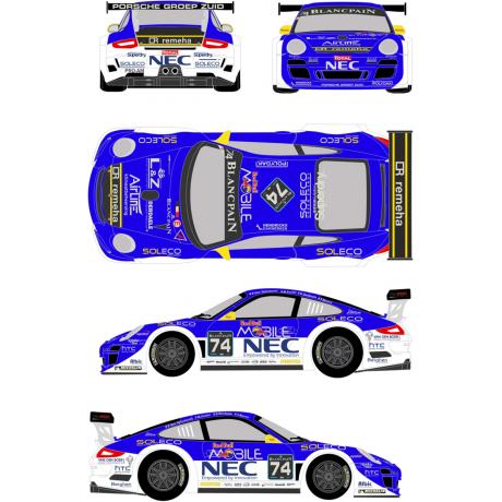 Porsche 911 GT3 74 24H Spa 2012 Pro Speed Competition