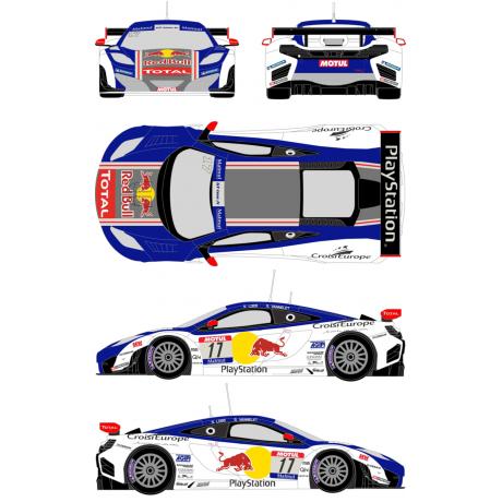 McLaren MP4/12C GT1 PlayStation 17 FFSA GT Tour 2012