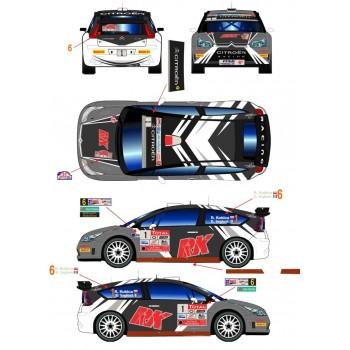 RDR021 - Citroen C4 WRC 1/6...