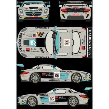 Mercedes SLS GT3 86 Total...