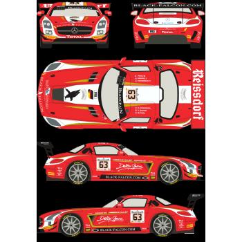 Mercedes SLS GT3 63 Total...