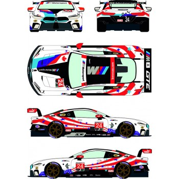 RDE24/041 BMW M8 GTLM 24...