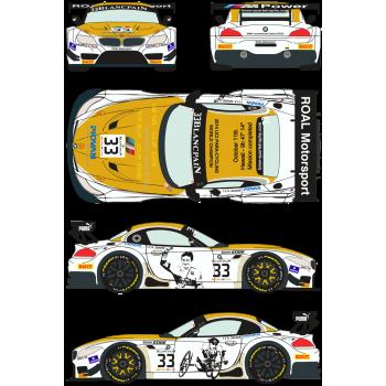 BMW Z4 GT3 33 BSS Zolder...
