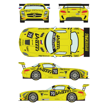 Mercedes SLS GT3 70...