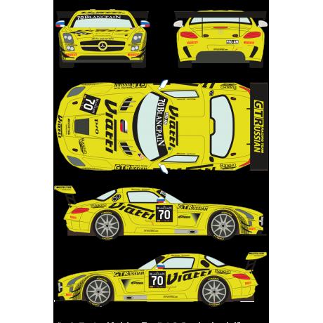 Mercedes SLS GT3 70 Blancpain GT Series 2015