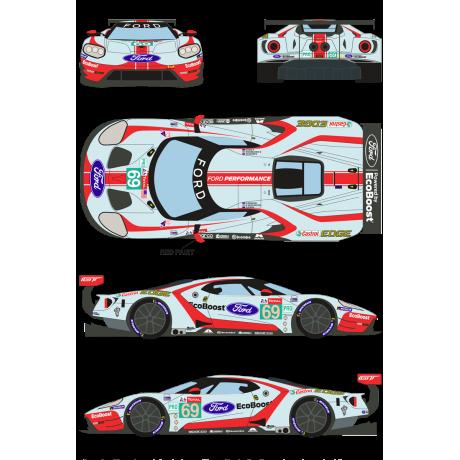 Ford GT 69 24 Horas Le Mans 2019