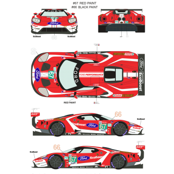 RDE24/028 - Ford GT 66/67...