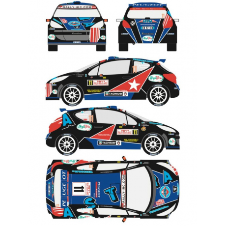 Peugeout 207 S2000 11 Rally Montecarlo 2011