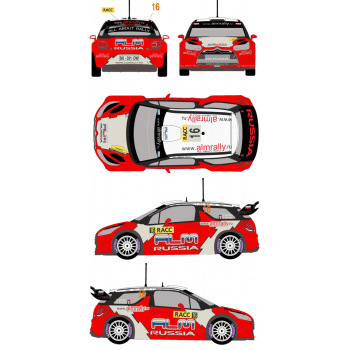 Citroen DS3 WRC 16 Rally...