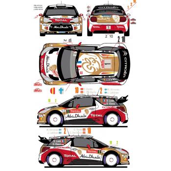 Citroen DS3 WRC 1 / 2 /10...