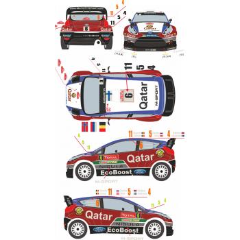 Ford Fiesta WRC 4 / 5 / 6 /...