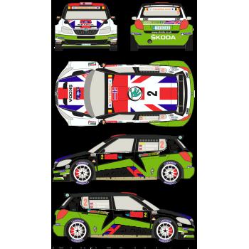 Skoda Fabia S2000 2 Rally...