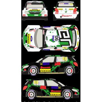 Skoda Fabia S2000 90 Rally...
