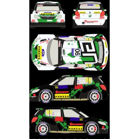 Skoda Fabia S2000 90 Rally Neste Oil Finland 2013