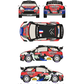 Citroen DS3 WRC 1 Rally Du...