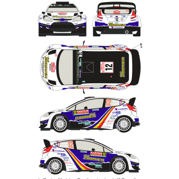 Ford Fiesta WRC 12 Rally...