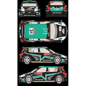Skoda Fabia S2000 31 Rally...
