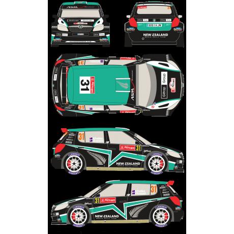 Skoda Fabia S2000 31 Rally Portugal 2012