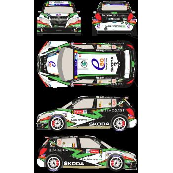 Skoda Fabia S2000 3 Rally...