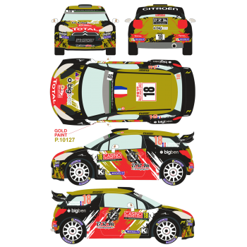 Citroen DS3 WRC 18 Rally...