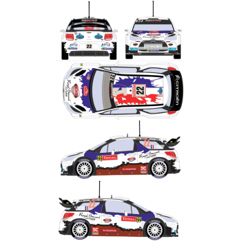 Citroen DS3 WRC 22 Rally...