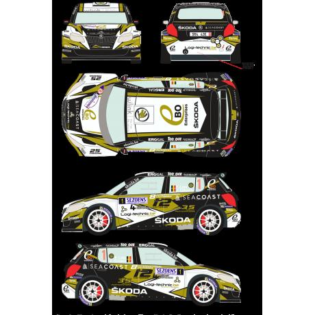 Skoda Fabia S2000 1 Sezoens Rally 2015